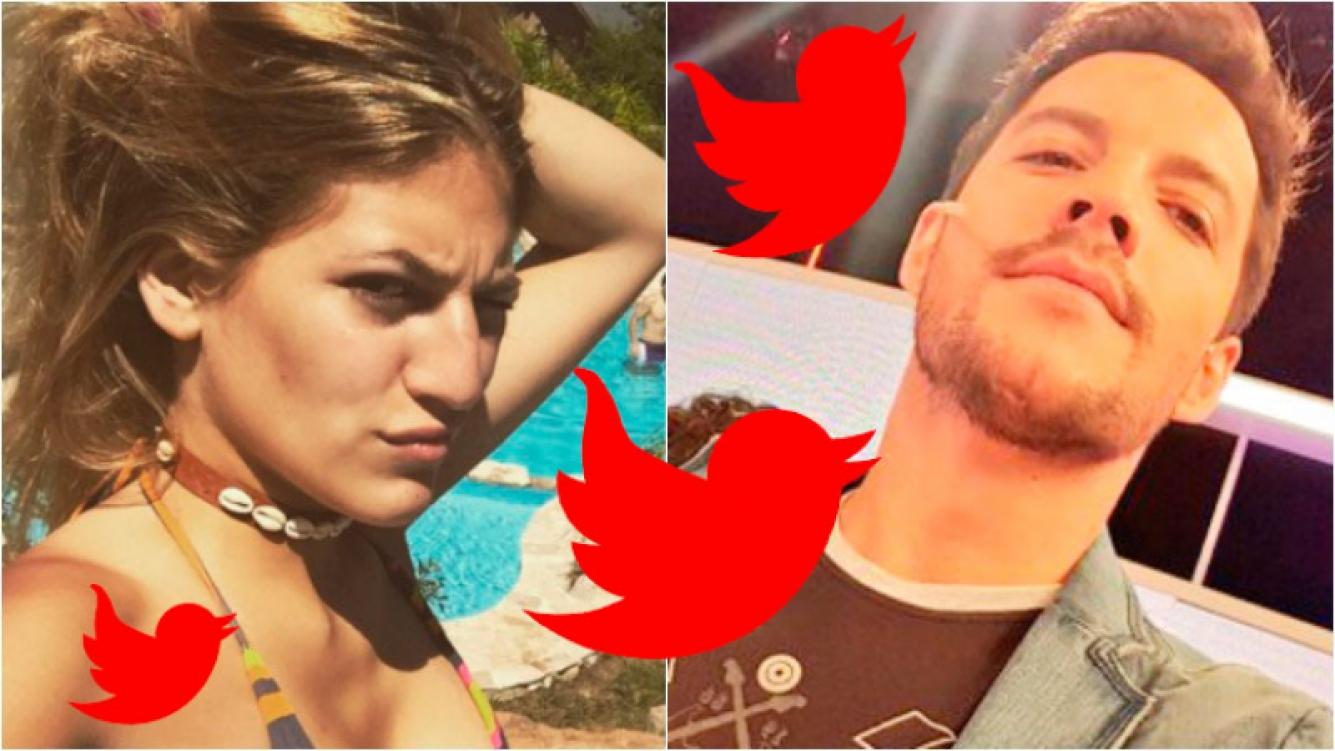 Los escandalosos tweets de Marian Farjat contra Francisco Delgado. Foto: Twitter