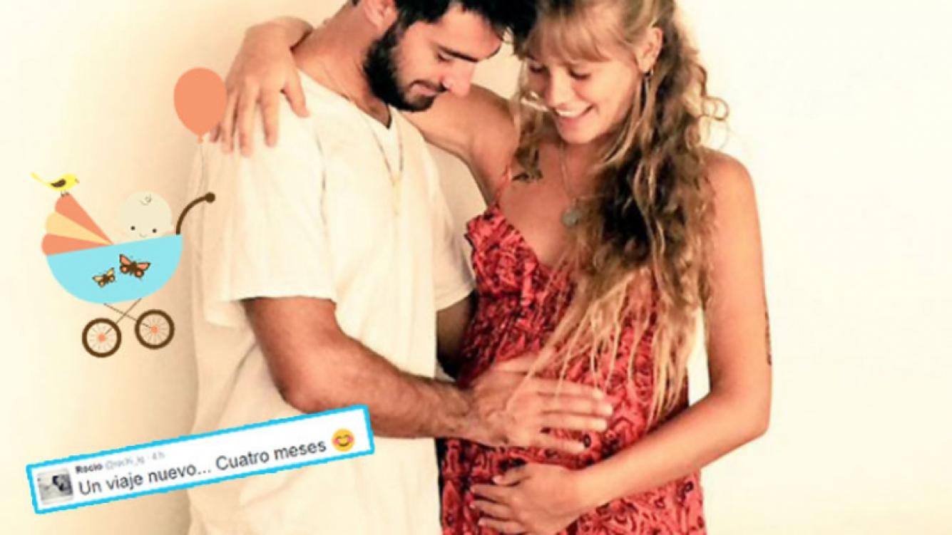 Rocío Igarzabal y su novio van a ser padres (Foto: Twitter).