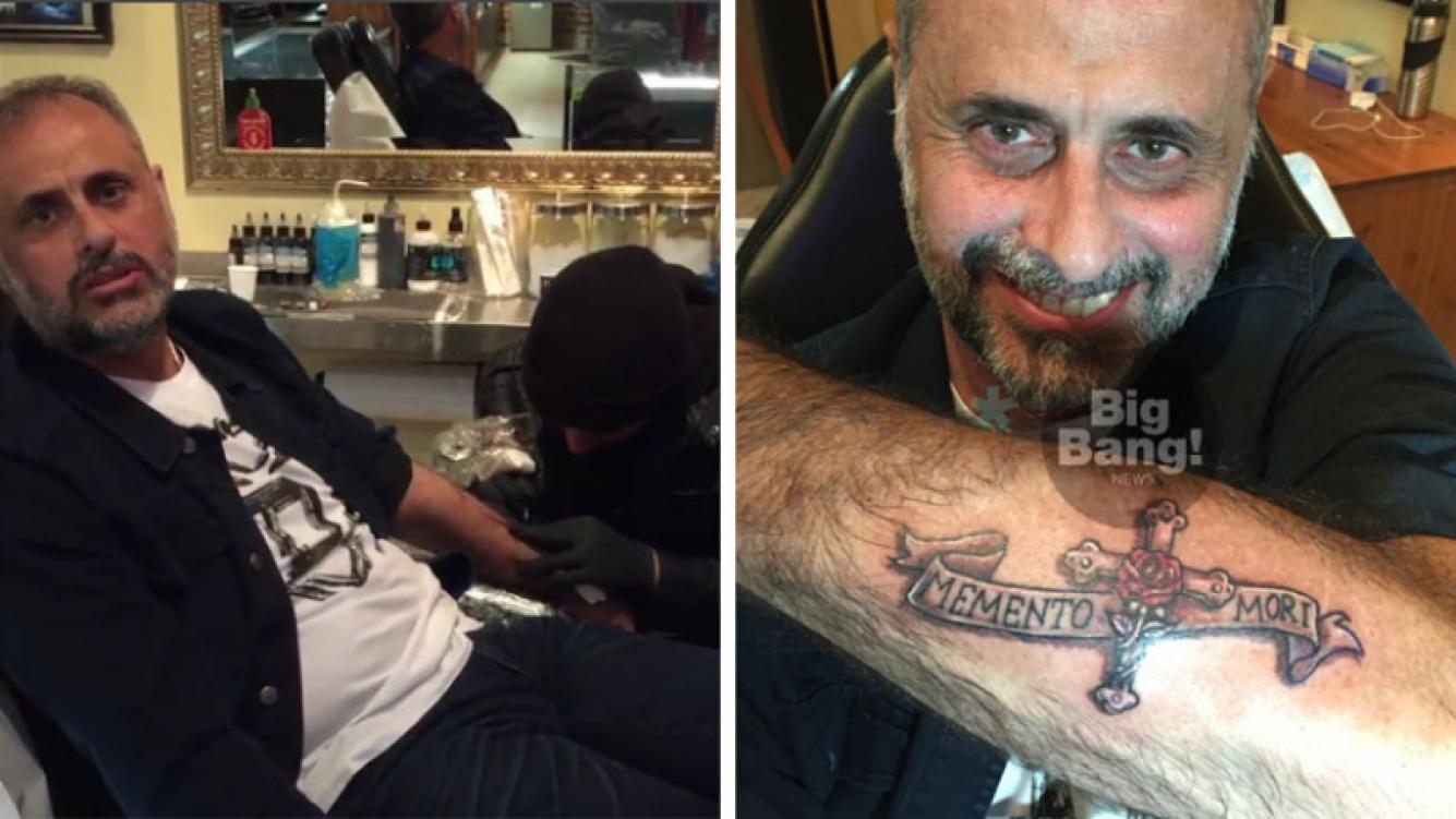El nuevo tatuaje de Jorge Rial. Foto: Big Bang News
