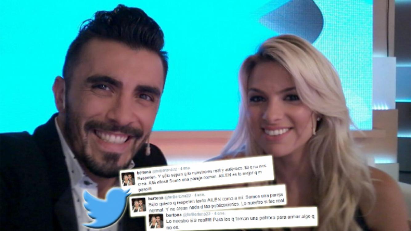 Fernando Bertona y un contundente descargo tras la crisis con Ailén (Foto: Twitter)
