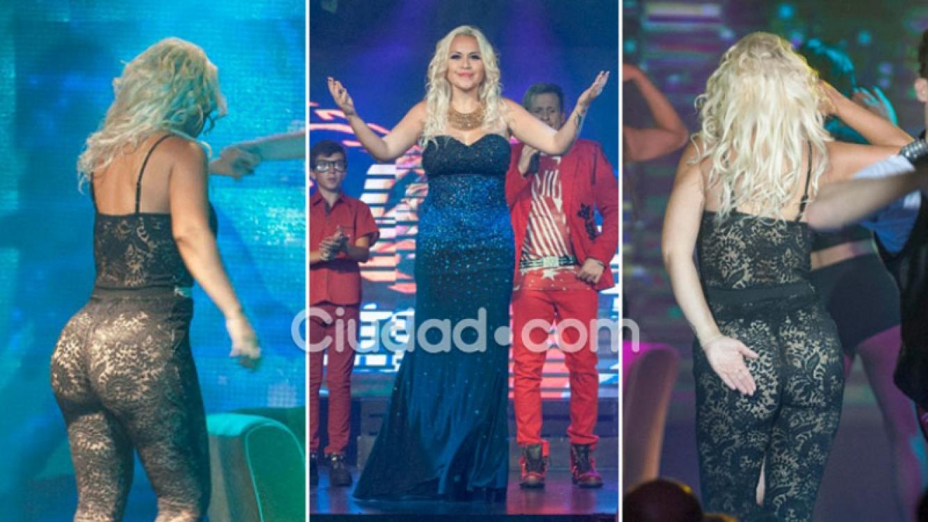 La transparencia súper hot de Verónica Ojeda en su debut teatral. (Foto: MSnews)