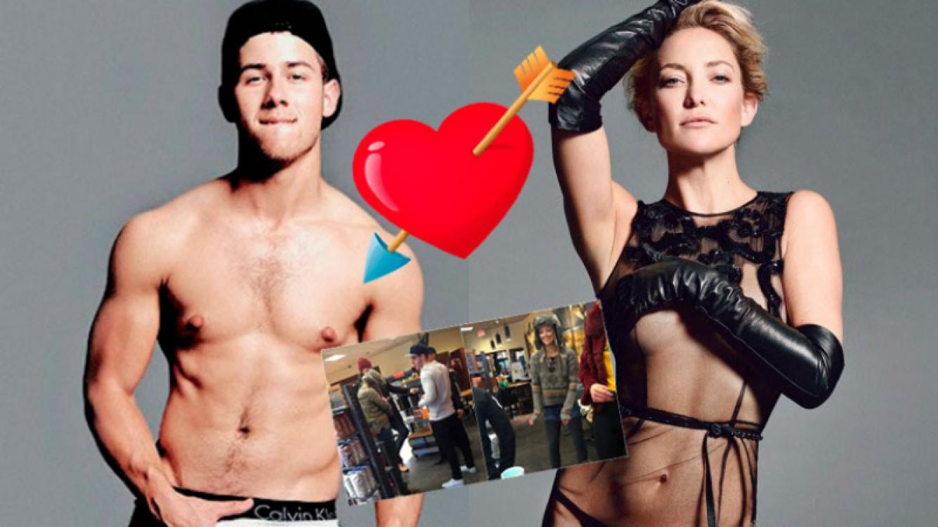 Kate Hudson y Nick Jonas ya no ocultan su amor. Foto: Web