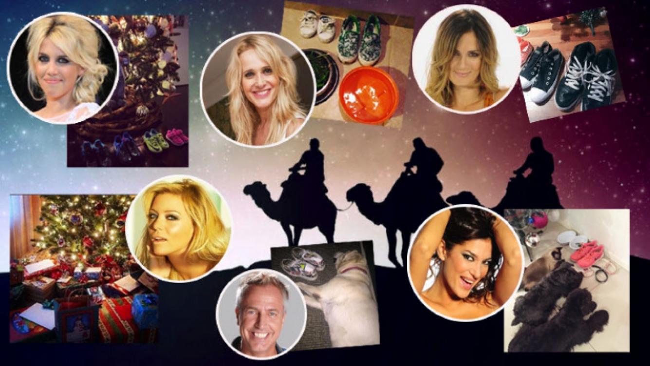 Las celebrities y su festejos en el Día de Reyes (Fotos: Instagram, Twitter y Web).