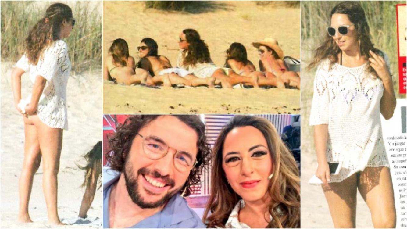 Jazmín Natour disfruta de sus vacaciones en Punta del Este (Fotos: revista Paparazzi y Web)