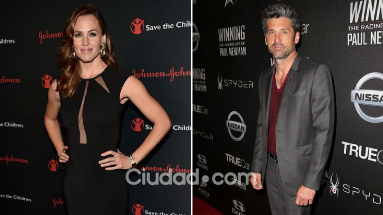Jennifer Garner y Patrick Dempsey, ¿nuevo romance en Hollywood? (Foto: AFP)
