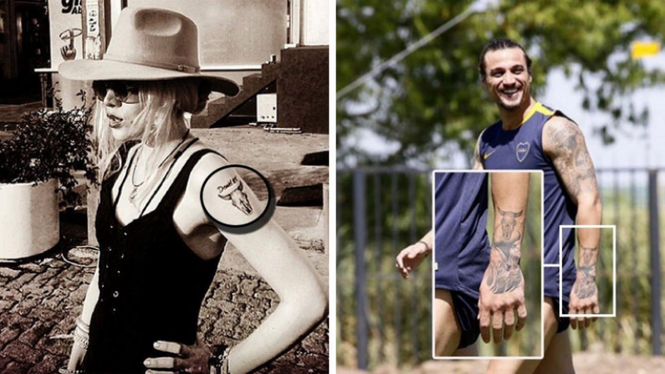 Militta sigue con el tatuajo de Osvaldo, mientras que Daniel se borró el de Bora. (Foto: Web)