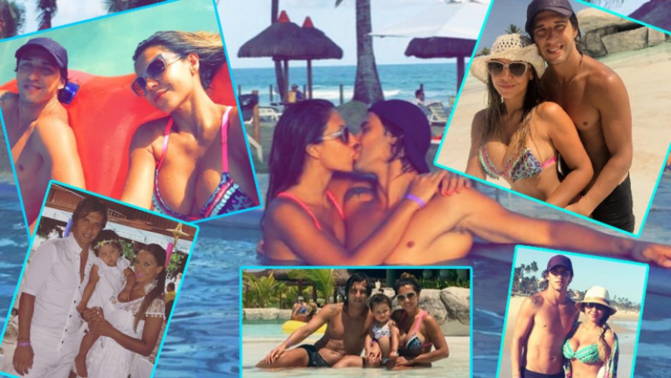 Las increíbles vacaciones familiares de Tamara Alves y Patricio Toranzo en Brasil (Fotos: Prensa Siria Group)