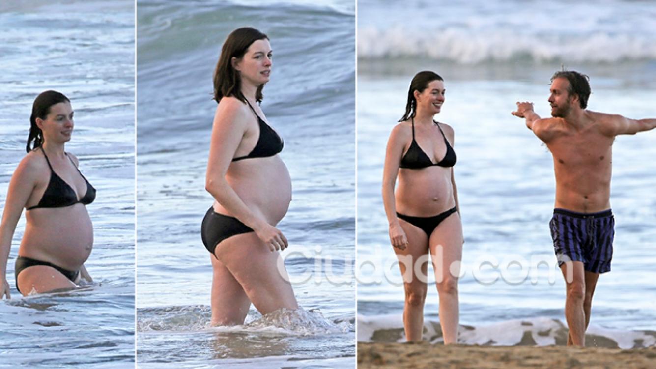 Estas son las imágenes que Anne Hathaway no quería que salieran a la luz. Fotos: Grosby Group.