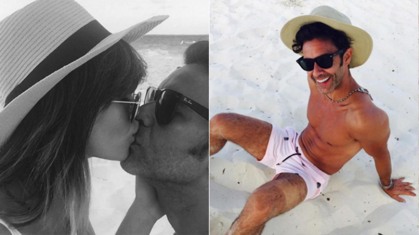 Lali Espósito y Mariano Martínez, de vacaciones en Miami (Foto: Instagram)