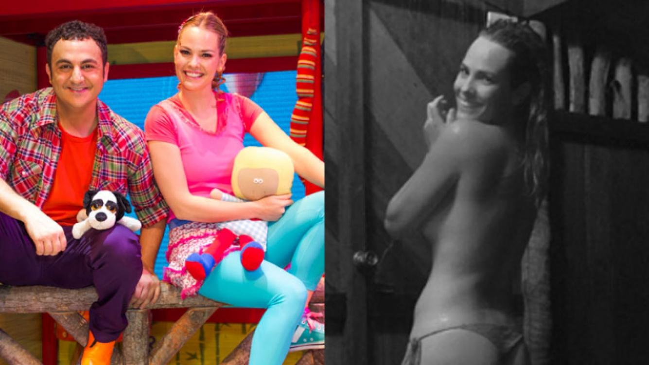 Muni se animó a una foto ultra sexy mientras se duchaba (Fotos: Web e Instagram).