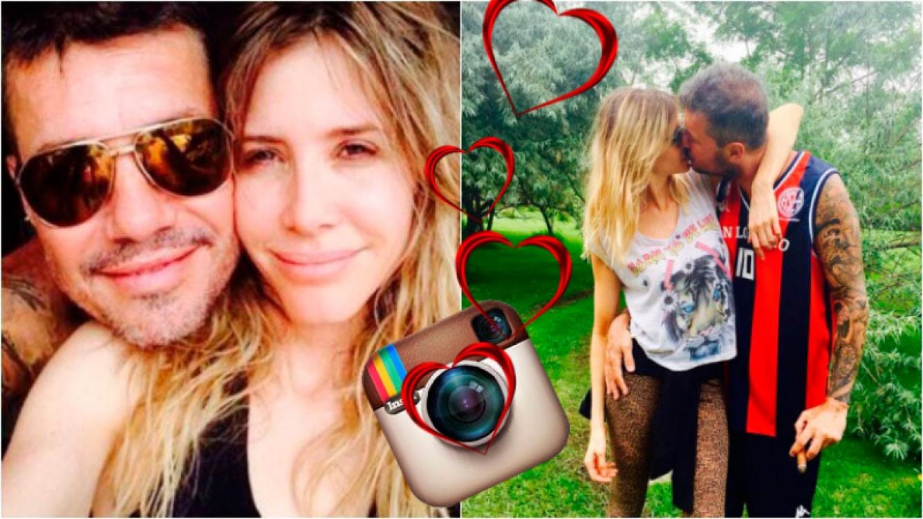 Guillermina Valdés compartió una romántica foto con Marcelo Tinelli en Instagram. Foto: Instagram