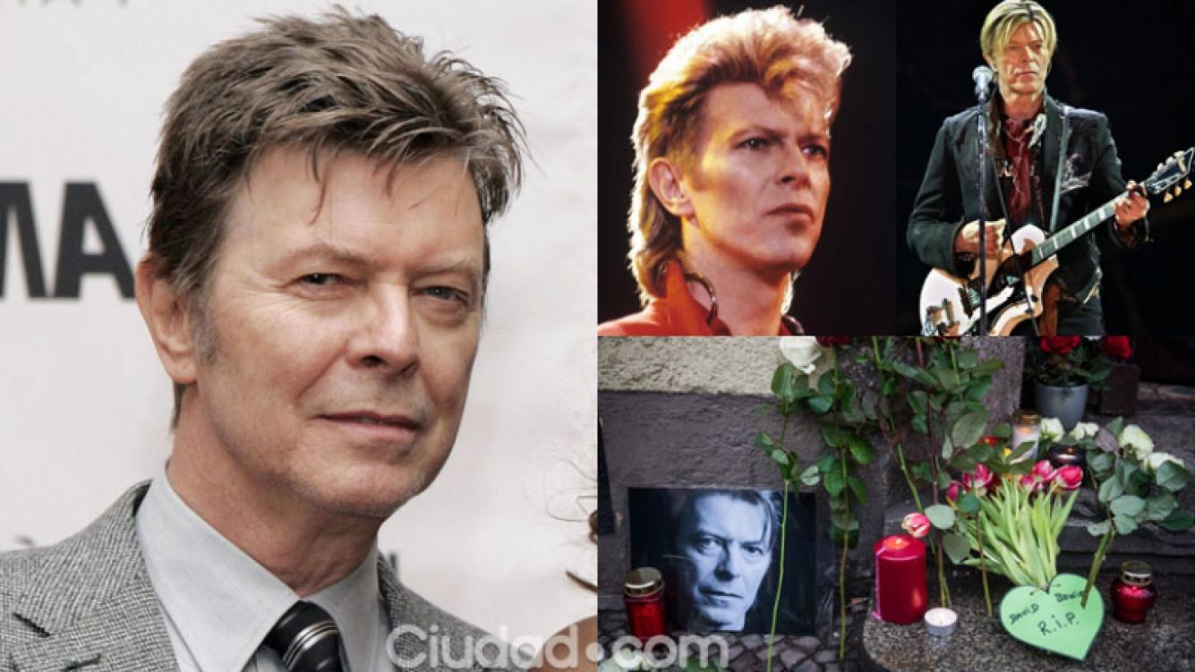 David Bowie murió a sus 69 años en Nueva York  (Fotos: AFP).