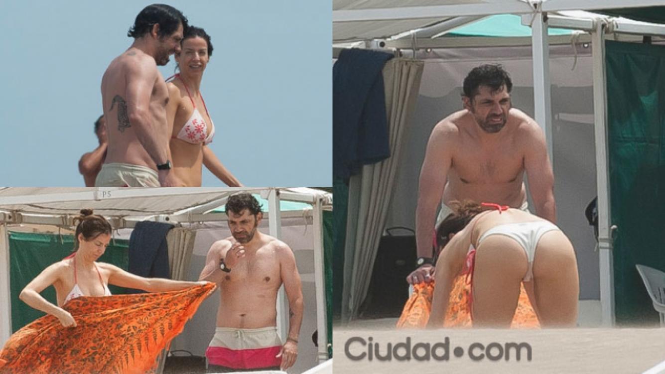 Mercedes Funes y su novio Fernando, enamorados en Mardel (Fotos:MSnews).