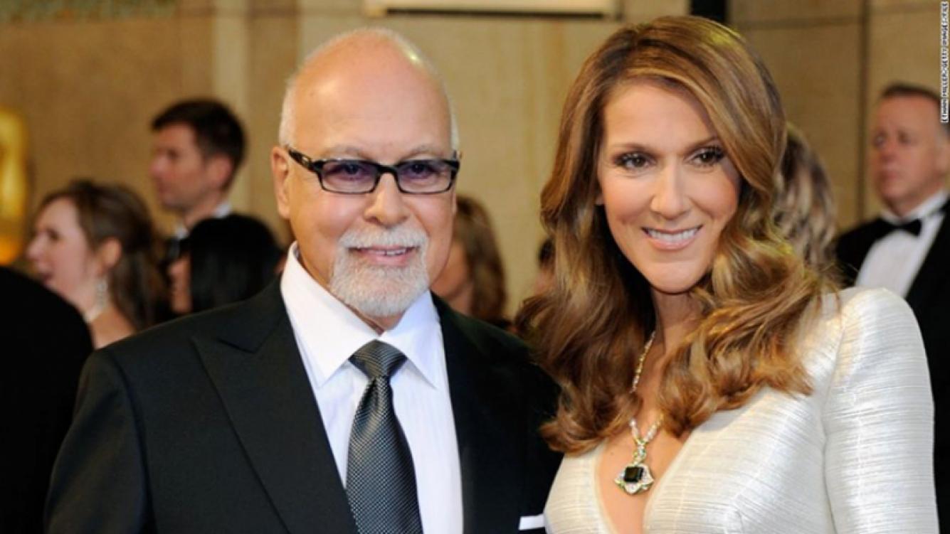 Murió el marido de Céline Dion. Foto: Web.