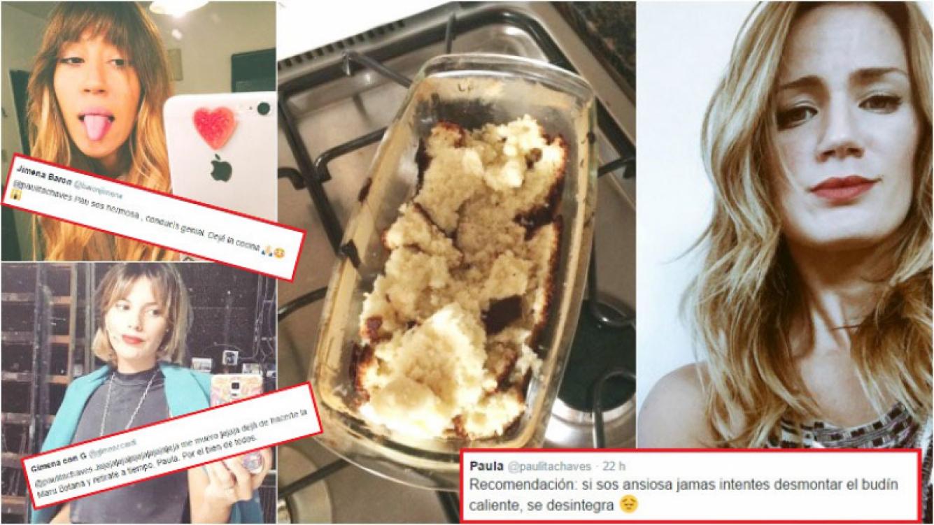 El fallido postre de Paula Chaves que generó chistes y chicanas de Barón y Accardi (Fotos: Instagram y Twitter)