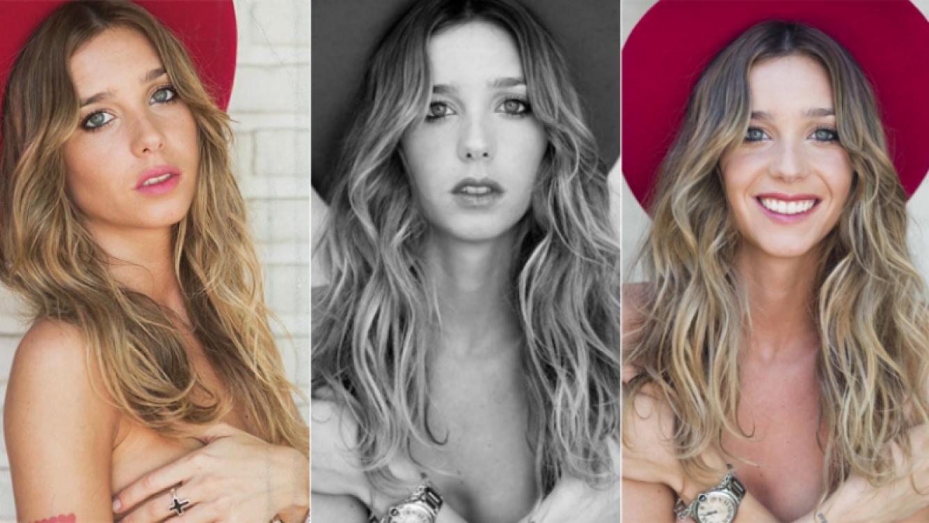 Lucía Celasco y un topless súper cuidado (Foto: Instagram y lucelasco.com)