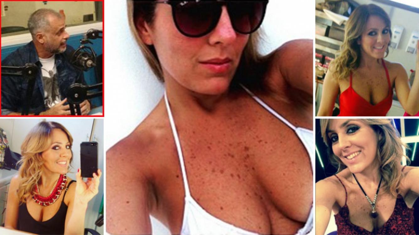 Jorge Rial bromeó con los escotes de Cora Debarbieri. (Foto: Instagram)