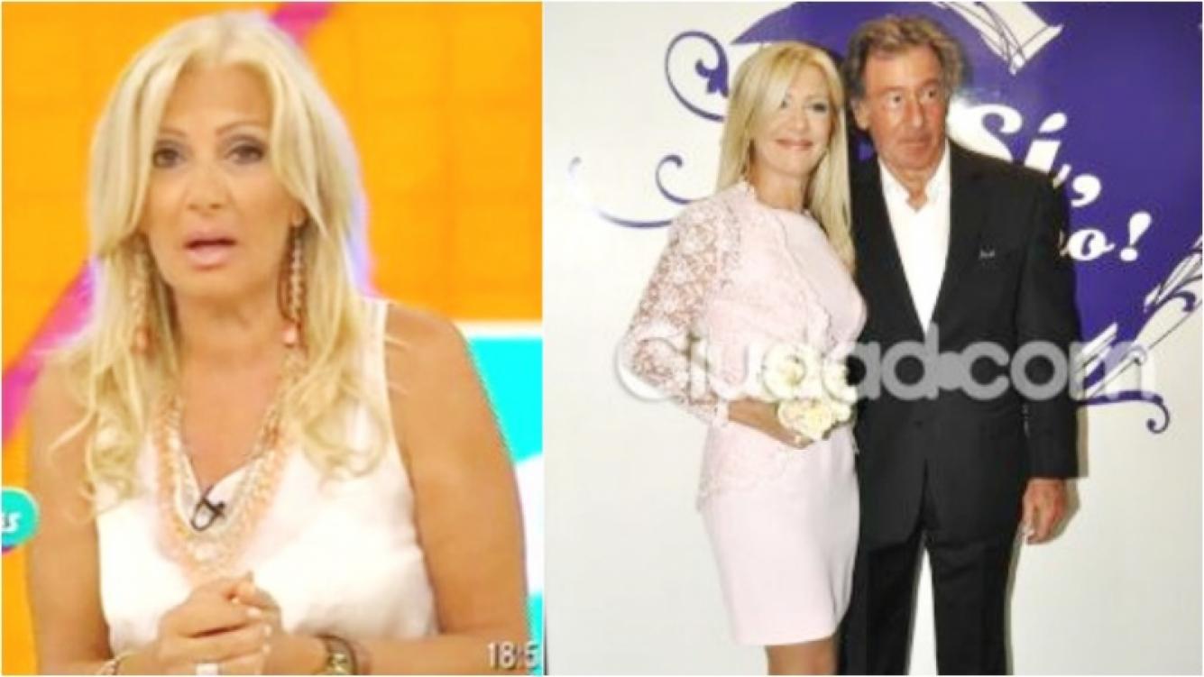 Dolor: murió Charly Hlawaczek, el marido de Susana Roccasalvo (Fotos: Web y Ciudad.com)