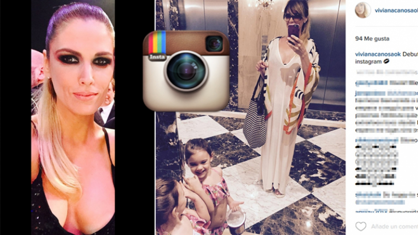 Viviana Canosa se sumó a Instagram.
