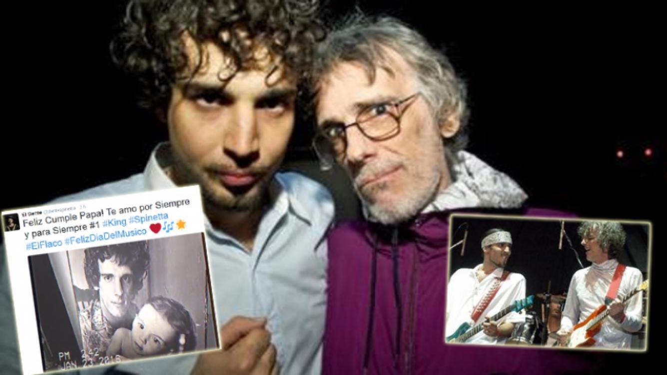 Dante Spinetta y un mensaje especial a su padre en el día que cumpliría años (Foto: web)