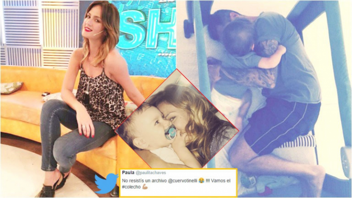 La divertida chicana de Paula Chaves a Marcelo Tinelli (Fotos: Instagram)