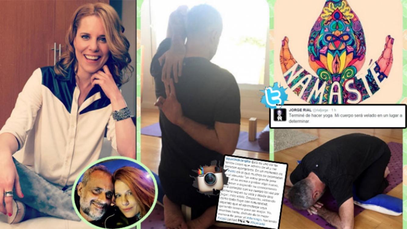Jorge Rial, un yogui enamorado de Agustina Kämpfer: su divertido mensaje y las emotivas palabras de la panelista. (Foto: Instagram)