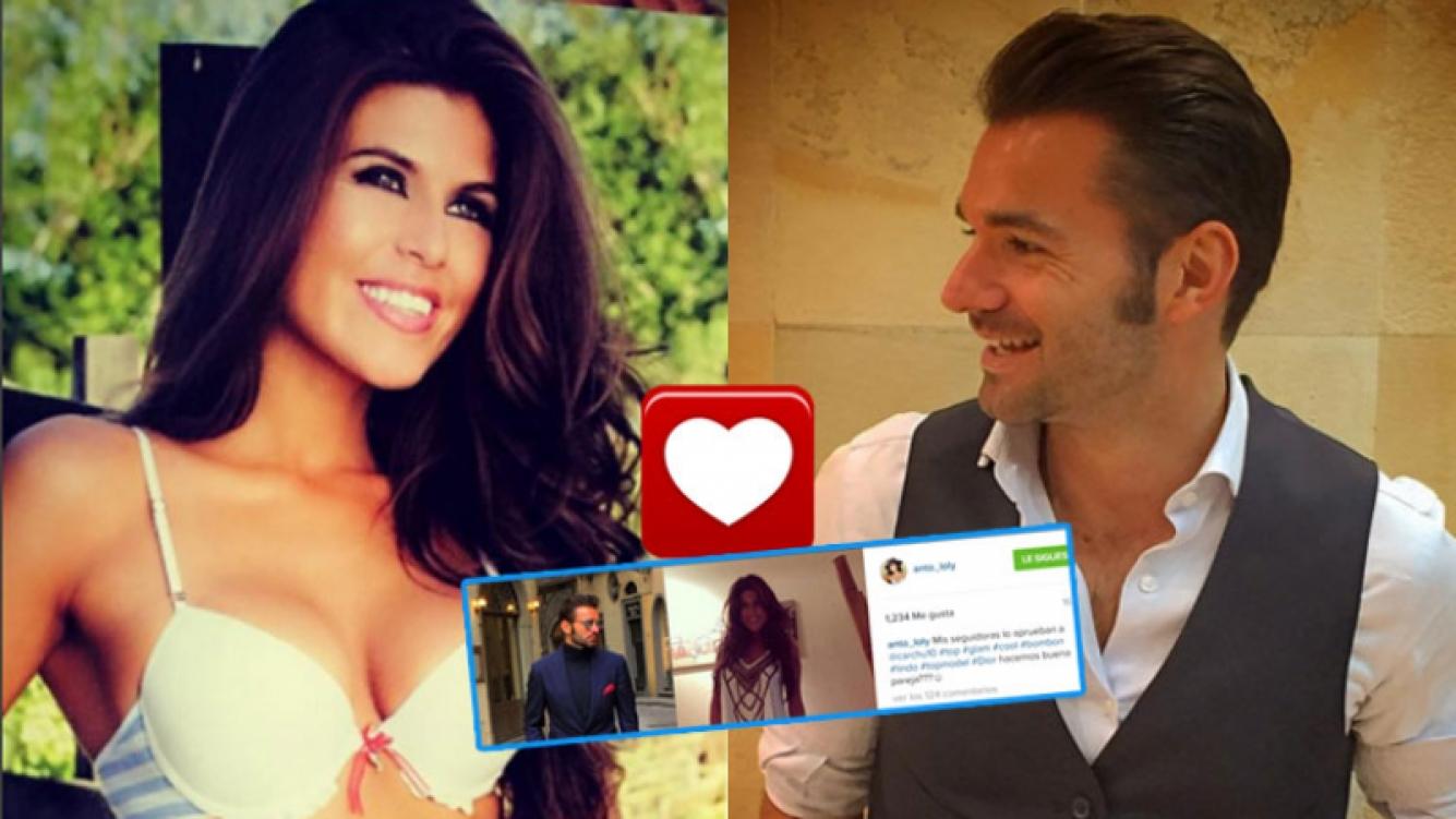 Loly y su nuevo candidato: un blogger español llamado Carlos Galluzzo (Fotos: Instagram).