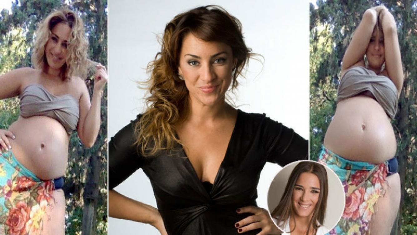 María Julia Oliván y los avatares de su embarazo. (Foto: Web y Twitter)