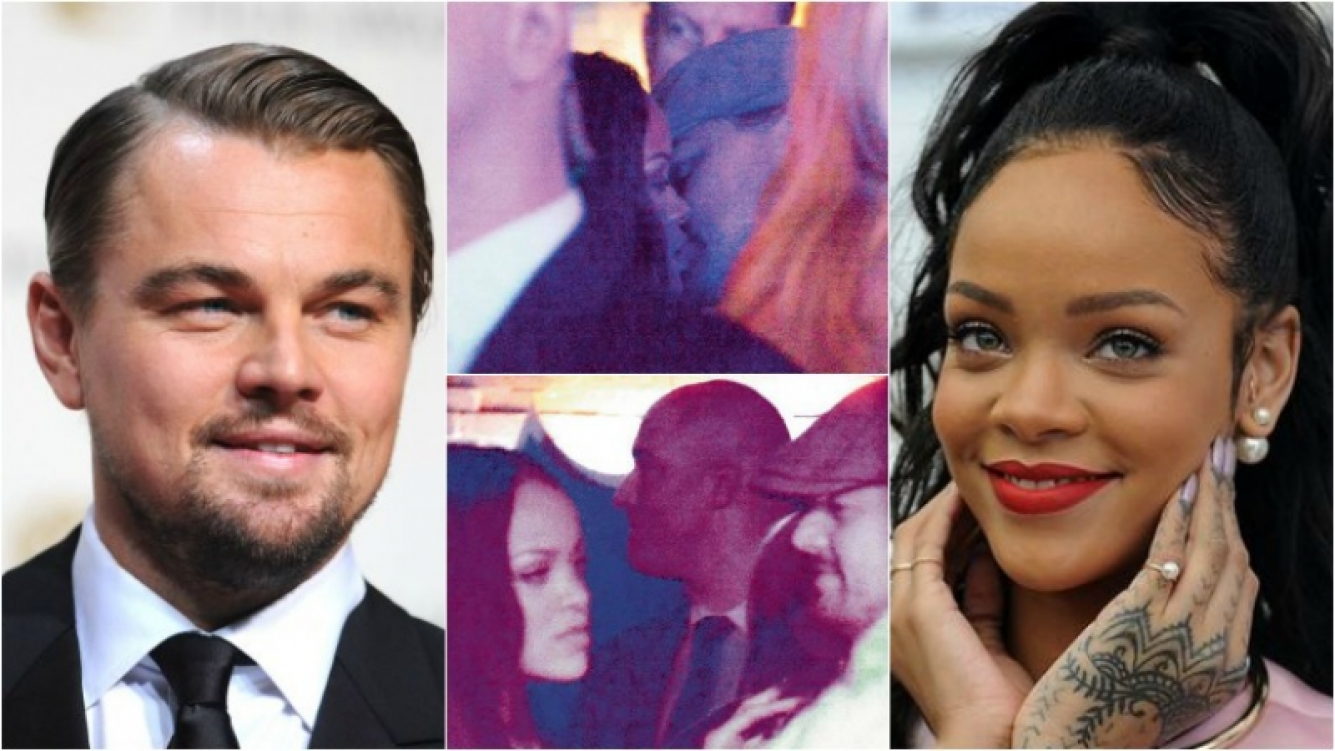 ¿Rihanna y Leonardo DiCaprio, apasionados en Paris? Foto: Twitter/ Web