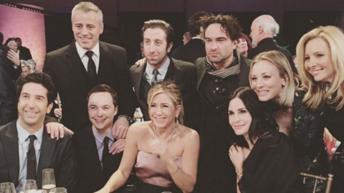 El reencuentro de los protagonistas de Friends (Foto: Instagram)