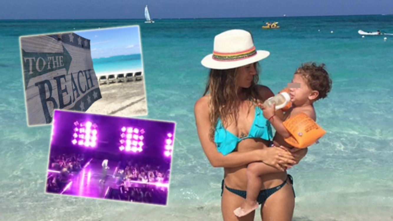 La relajada estadía de Jimena Barón y su hijo Momo en Miami (Foto: Instagram)