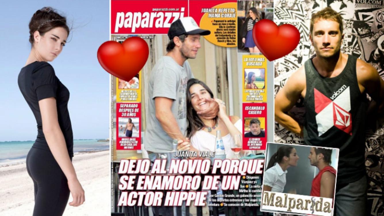 Juana Viale, romance de verano con Gastón Grande, excompañero de Malparida. (Foto: Web y revista Paparazzi)