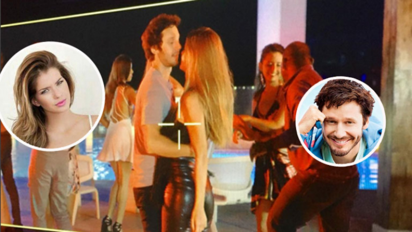 ¡Rodaje caliente! China Suárez y Vicuña, escena hot a puro baile… y provocación. (Foto: Instagram)