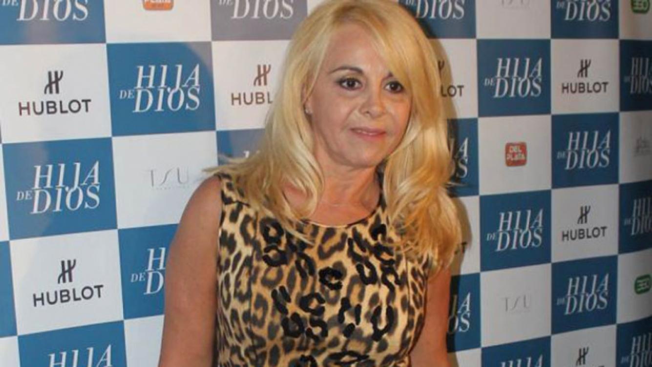 Claudia Villafañe fue notificada en Miami por una causa que le inició Diego Maradona. (Foto: Web)