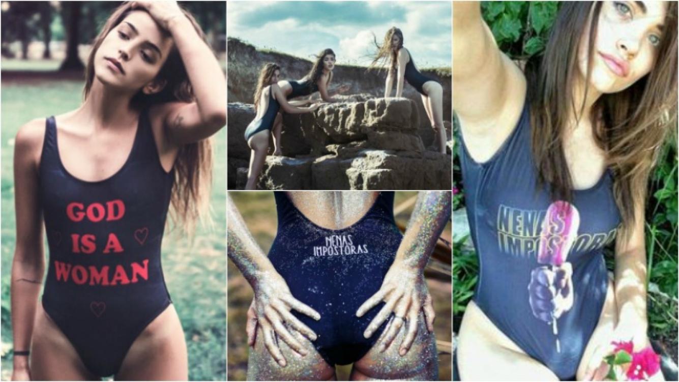 Calu Rivero y Eva De Dominici, súper sexies para una campaña de mallas. Foto: Web