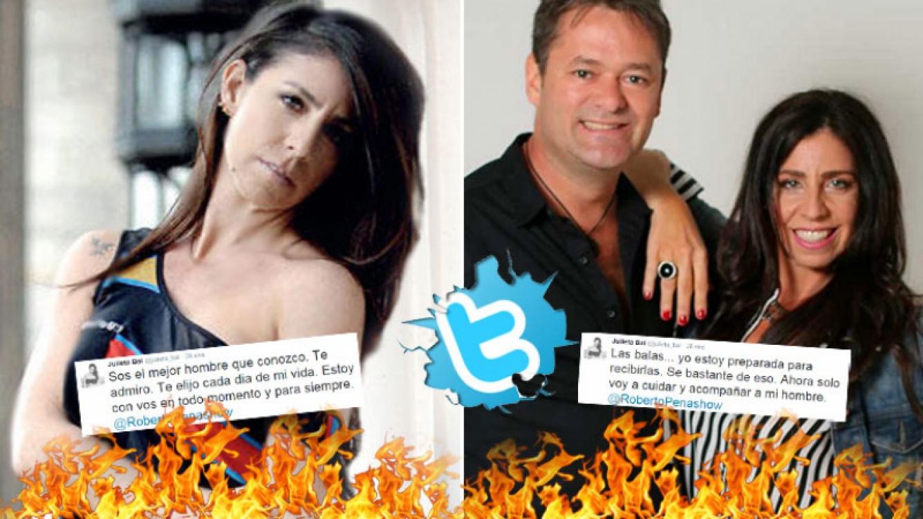 La defensa 2.0 de Julieta Bal a Roberto Peña, tras ser acusado de violencia de género. (Foto: Web)