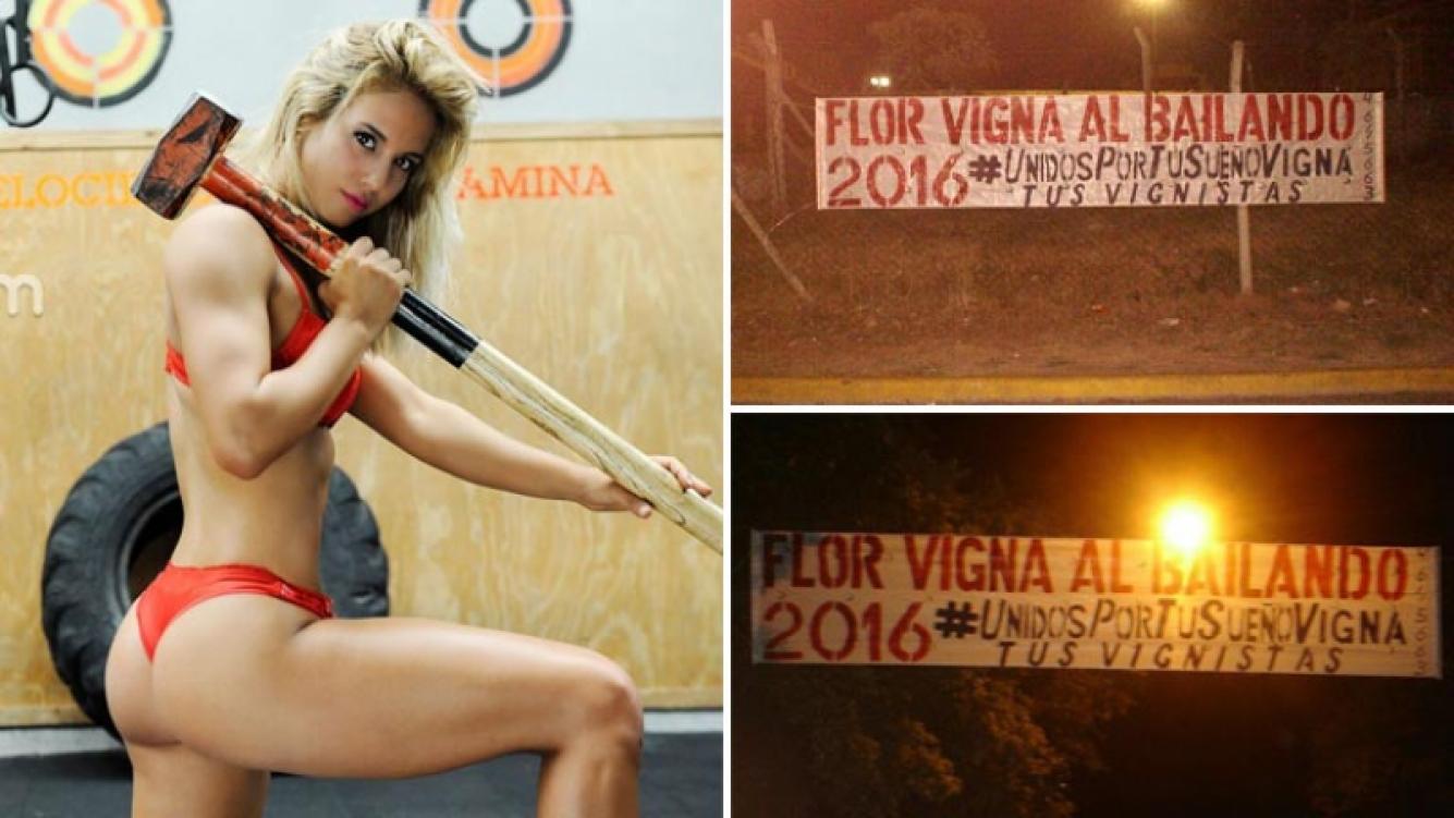 La campaña de los fans de Florencia Vigna para que vaya al Bailando 2016