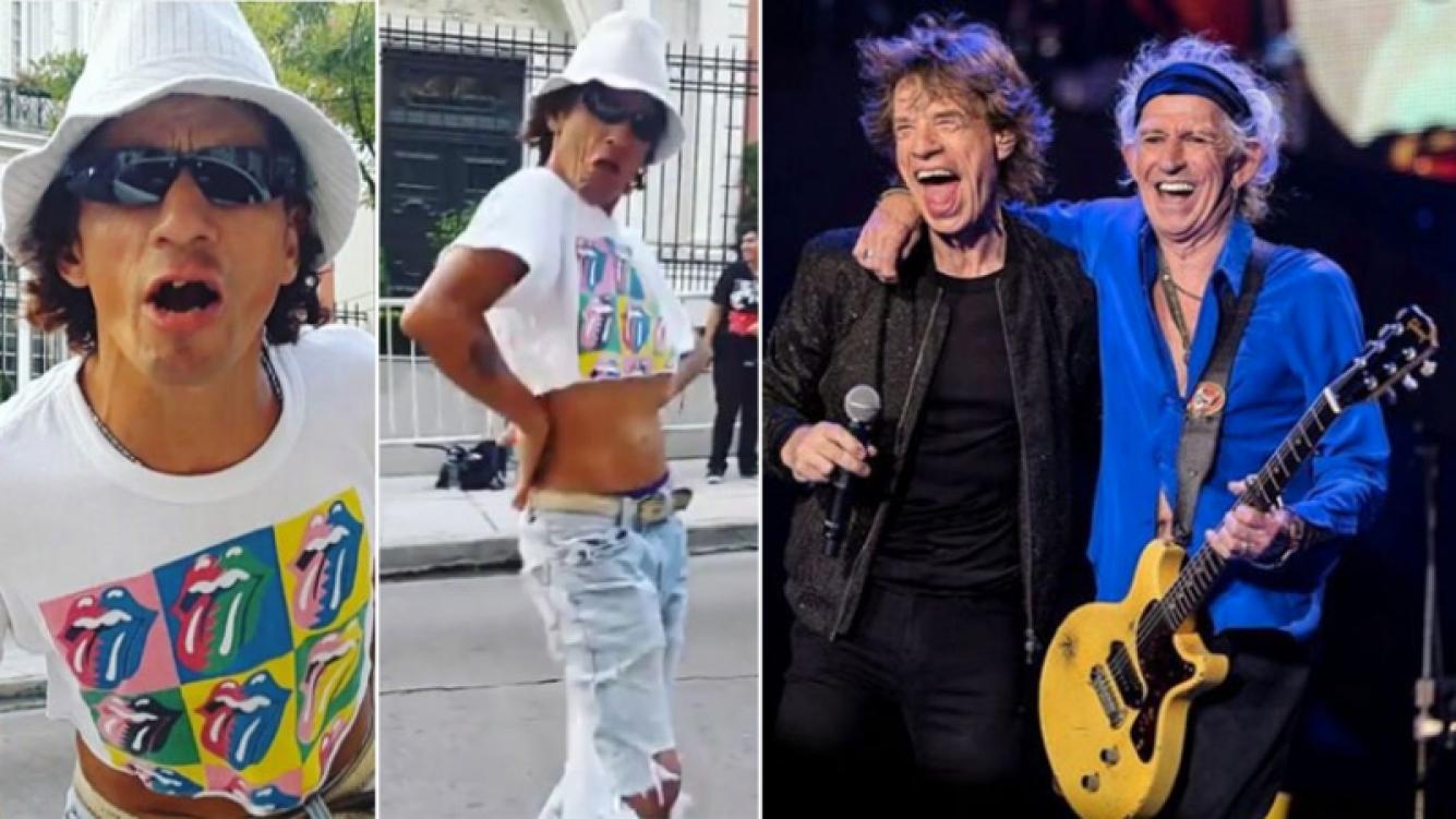 ¡Genios totales! El increíble gesto de los Rolling Stones con un fan argentino. (Foto: Instagram)