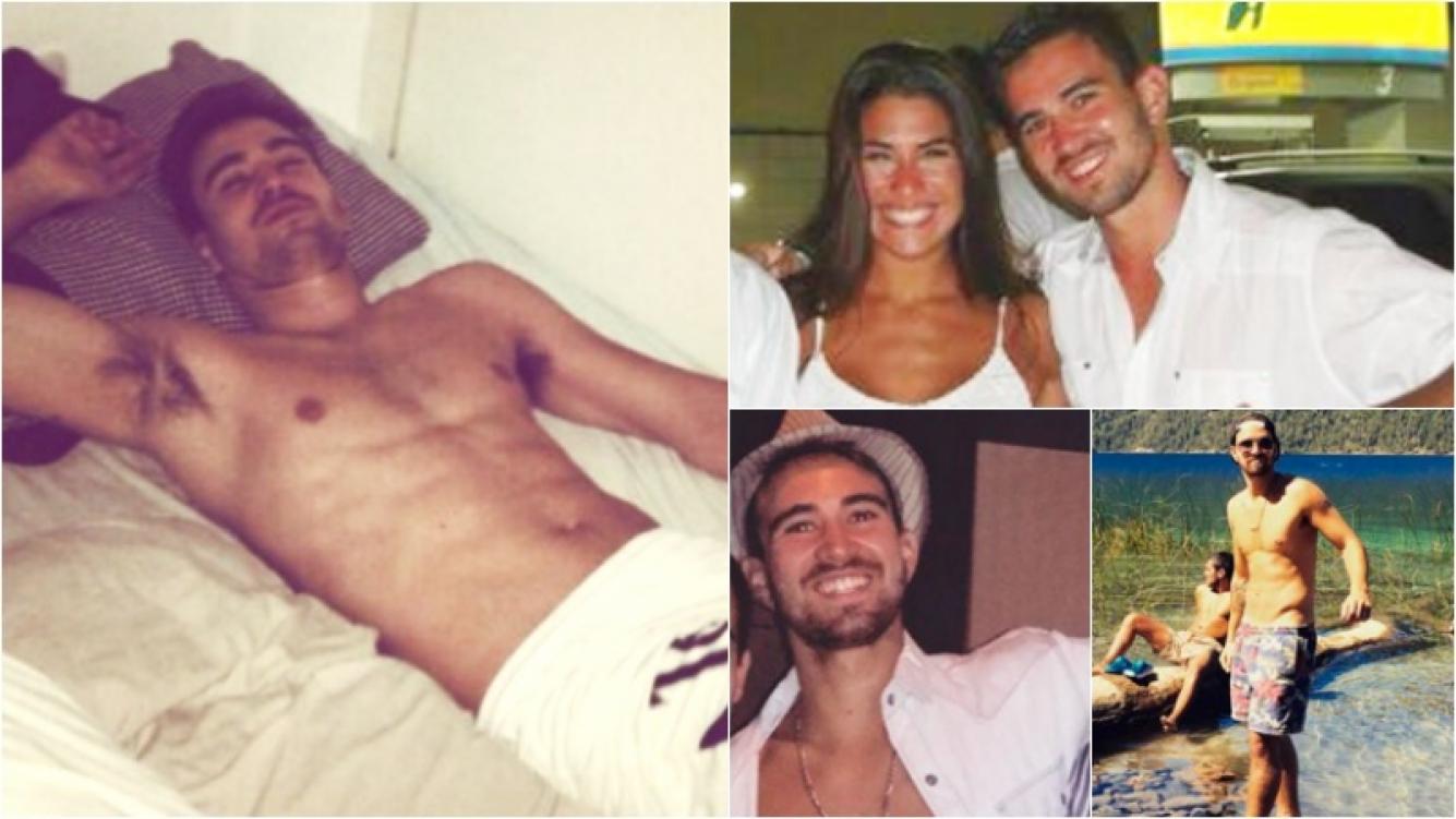 Conocé a Hernán Rey, el amigovio de Ivana Nadal que recibió las imágenes hot. Foto: Instagram/ Twitter