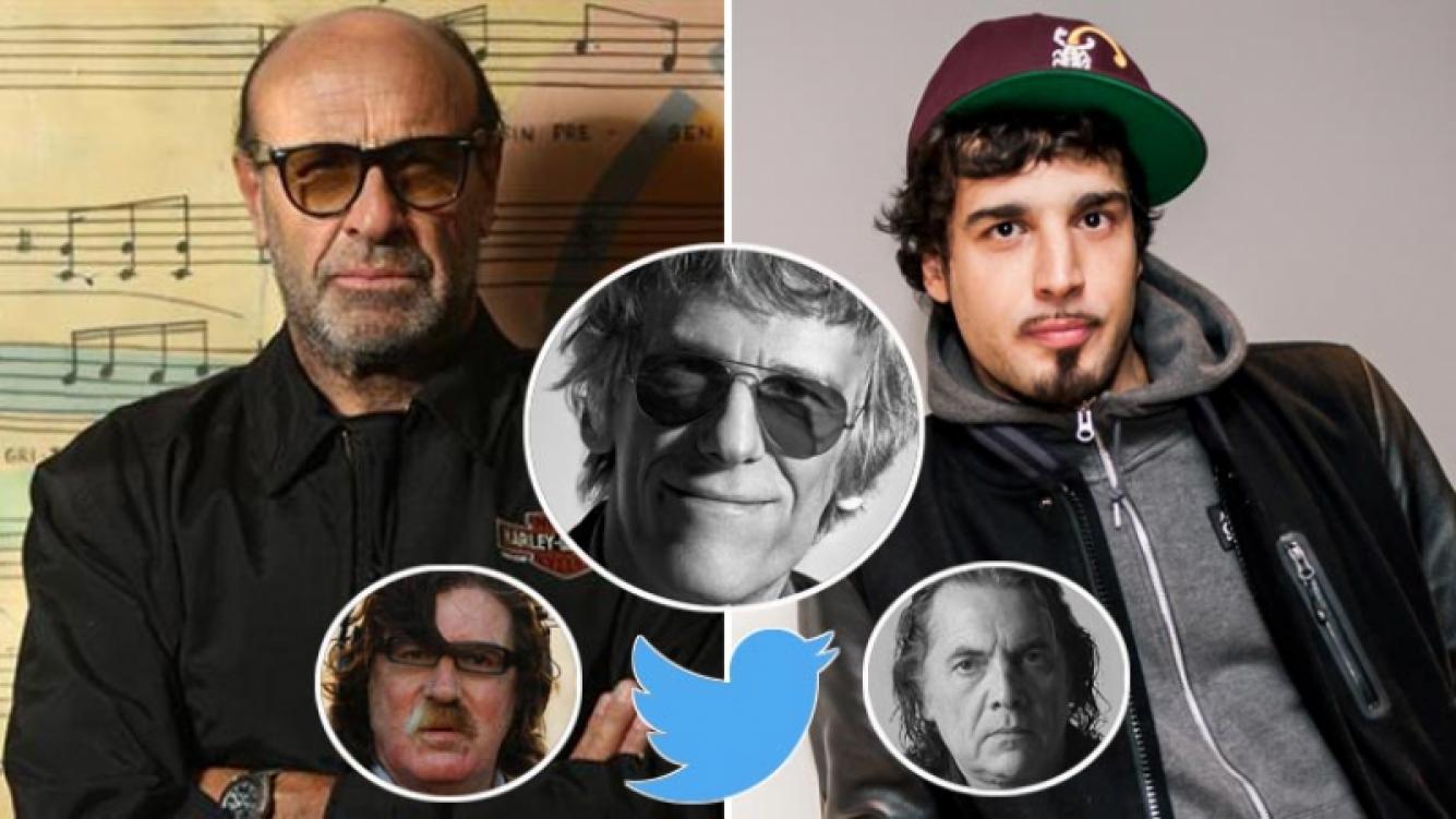 Héctor Starc relacionó la muerte de Luis Alberto Spinetta con el consumo de marihuana, y Dante lo cruzó. Foto: Twtter