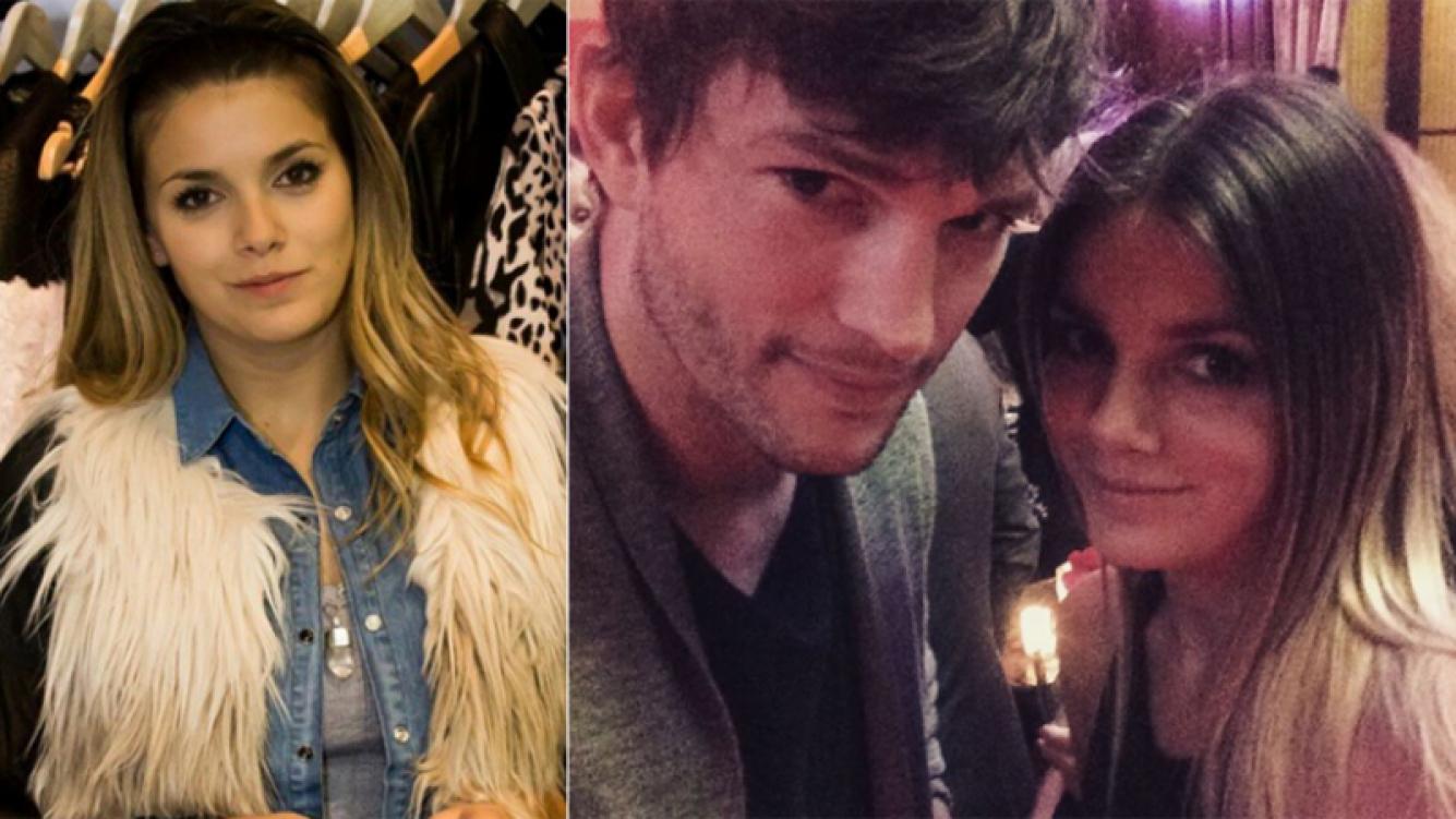Natalie Pérez negó affaire con Ashton Kutcher en Twitter Foto: Instagram