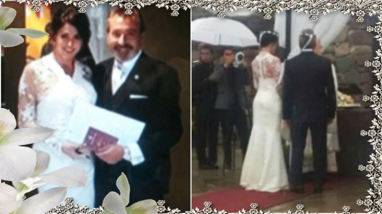Las primeras fotos del casamiento de Pamela David y Daniel Vila (Fotos: Twitter)