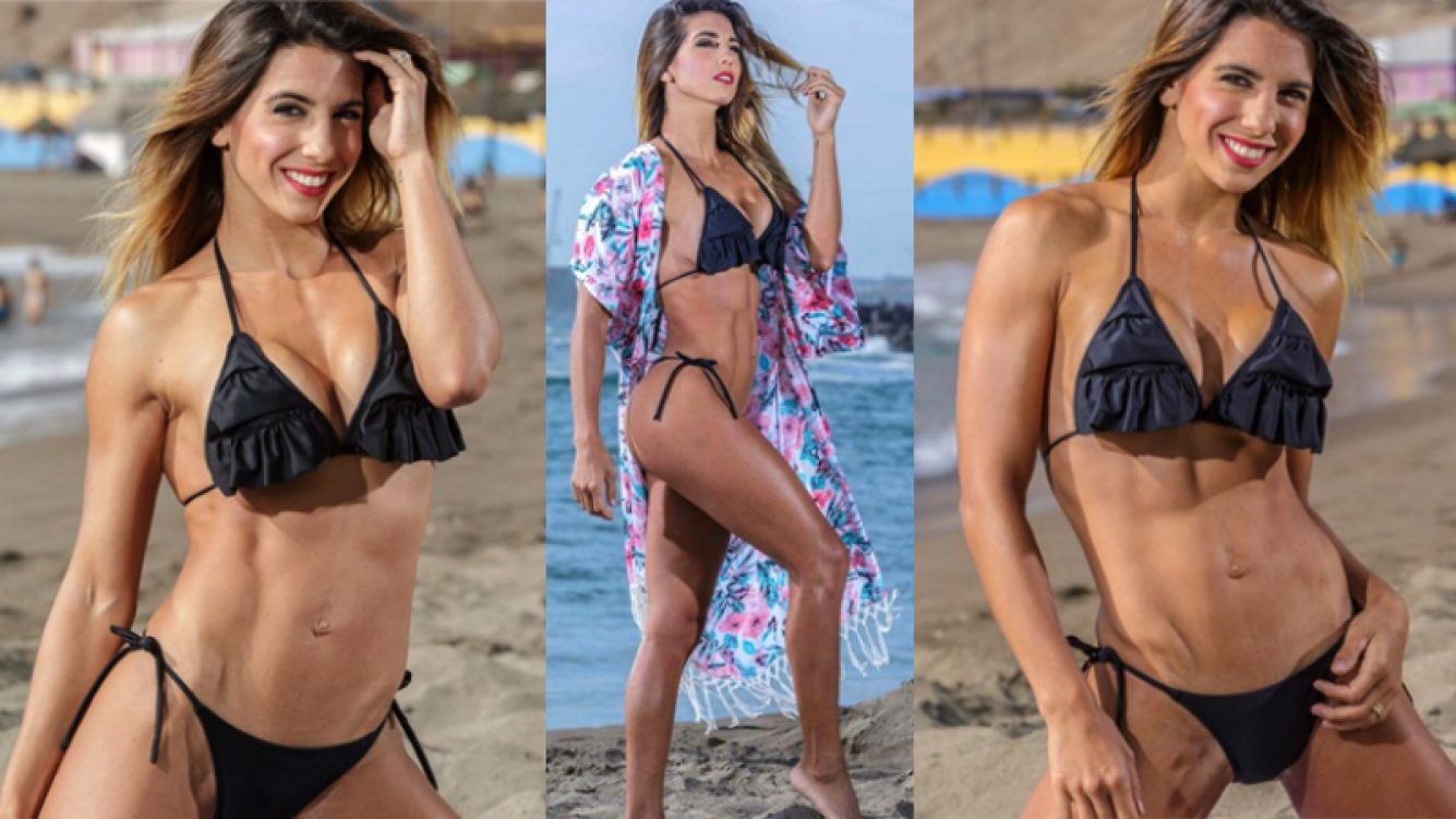 Cinthia Fernández volvió a hacer una producción sexy, en Chile. (Fotos: Instagram)