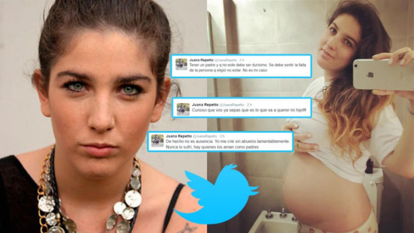 Juana Repetto se enfrentó a las críticas en Twitter (Fotos: Web e Instagram).