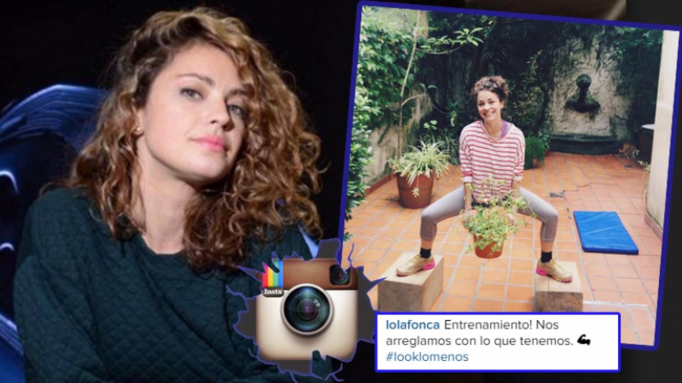 La actriz cool que hace gimnasia levantando una maceta (Foto: Web e Instagram)