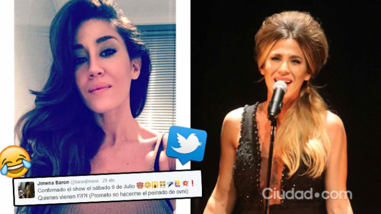 La divertida autocrítica fashion de Jimena Barón sobre el look de su show pasado. Foto: Instagram y Ciudad.com