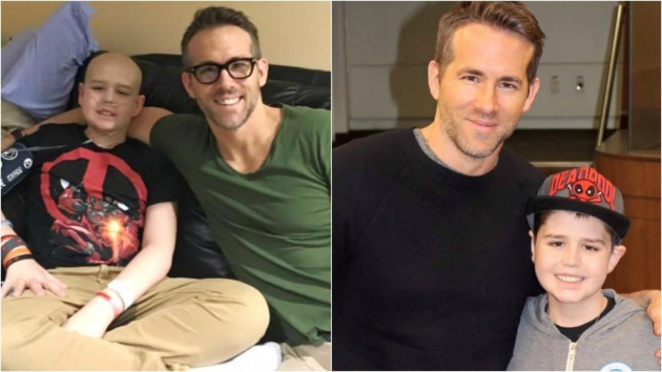 La conmovedora carta de Ryan Reynolds a un fanático de 13 años que murió de cáncer. Foto: Facebook