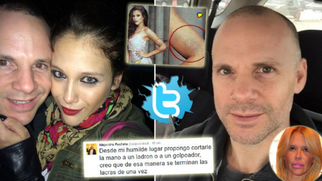 El fortísimo tweet del papá de Barbie Vélez, tras la foto con moretones. (Foto: Web)