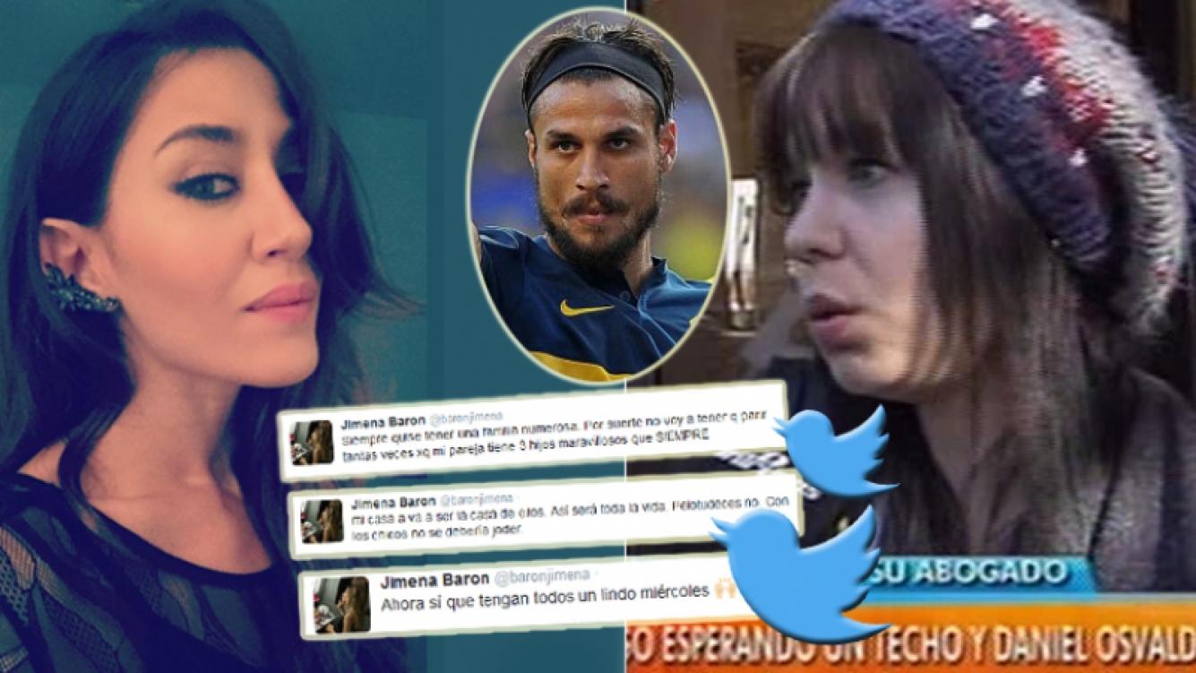 Jimena Barón le respondió a Ana Oertlinger en Twitter (Foto: Web y redes sociales)