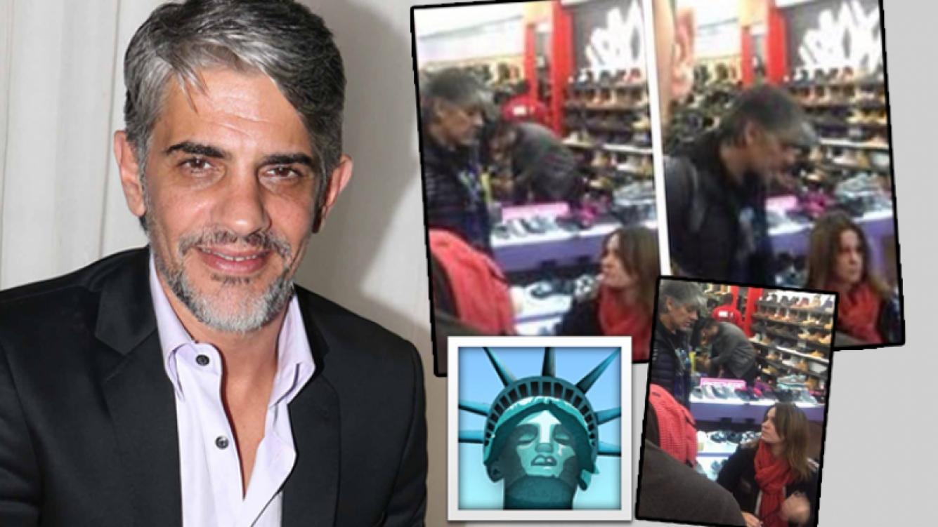 Pablo Echarri, tras las críticas 2.0 por su viaje a Nueva York con Nancy Dupláa (Foto: web y Twitter)